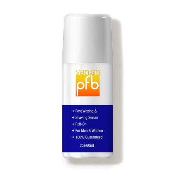 PFB Vanish post waxing roll-on shaving serum