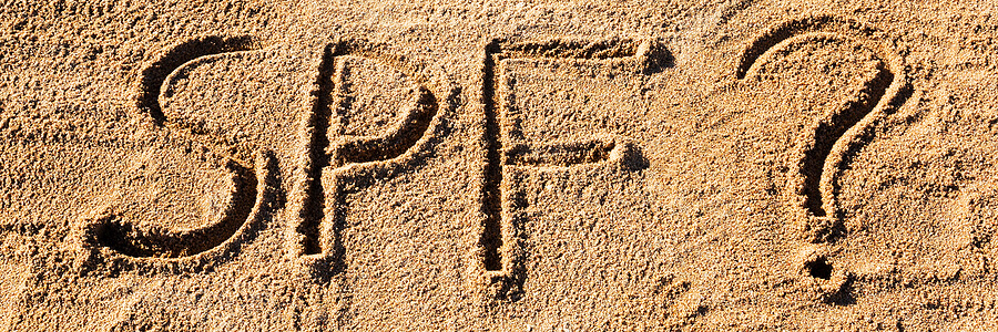 spf in the sand