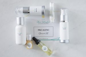 skincare kit with vitamin c serum